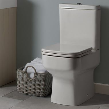 Roper Rhodes Geo Toilet & Soft Close Seat - 645mm Projection