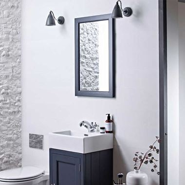 Roper Rhodes Hampton Cloakroom Mirror - 450 x 700mm