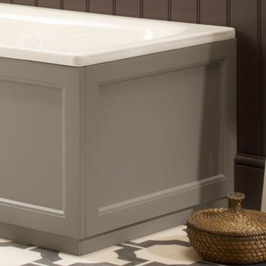 Roper Rhodes Hampton End Bath Panel - Mocha