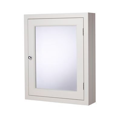 Roper Rhodes Hampton Mirrored Cabinet - Chalk White