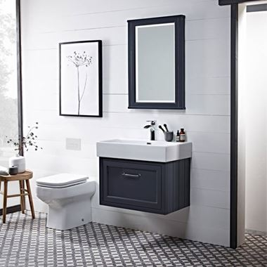 Roper Rhodes Hampton Wall Mounted 665mm Vanity Unit