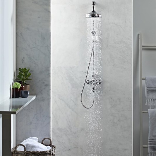 Roper Rhodes Henley Dual Function Exposed Diverter Shower System