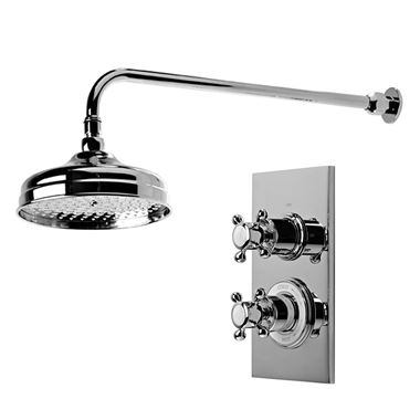 Roper Rhodes Henley Single Function Concealed Shower System