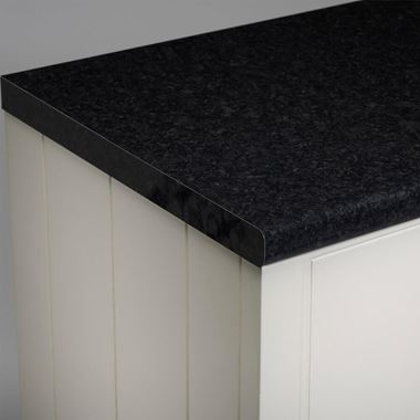 Roper Rhodes 2000mm Laminate Worktop - Black Granite