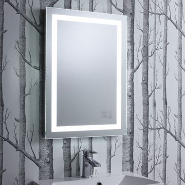 Roper Rhodes LED Illuminated Encore Mirror, with Bluetooth Speaker System - 500 x 700mm