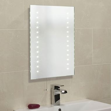 Roper Rhodes LED Illuminated Atom Mirror - 450 x 600mm