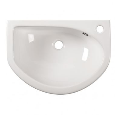 Roper Rhodes Minerva 460mm Slim Depth Semi-Recessed Basin