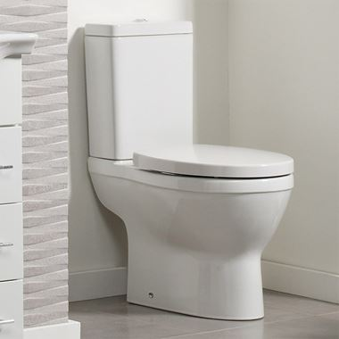 Roper Rhodes Minerva Close Coupled WC, Cistern & Seat - 665mm Projection