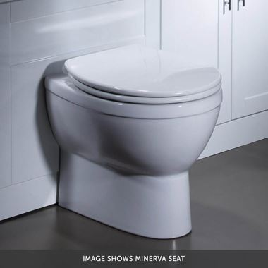 Roper Rhodes Minerva Close Coupled WC, Cistern & Seat - 665mm Projection - Minerva Seat