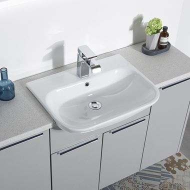 Roper Rhodes Note 560mm Semi-Countertop Basin