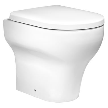 Roper Rhodes Note Back to Wall WC & Soft-Close Seat - 500mm Projection