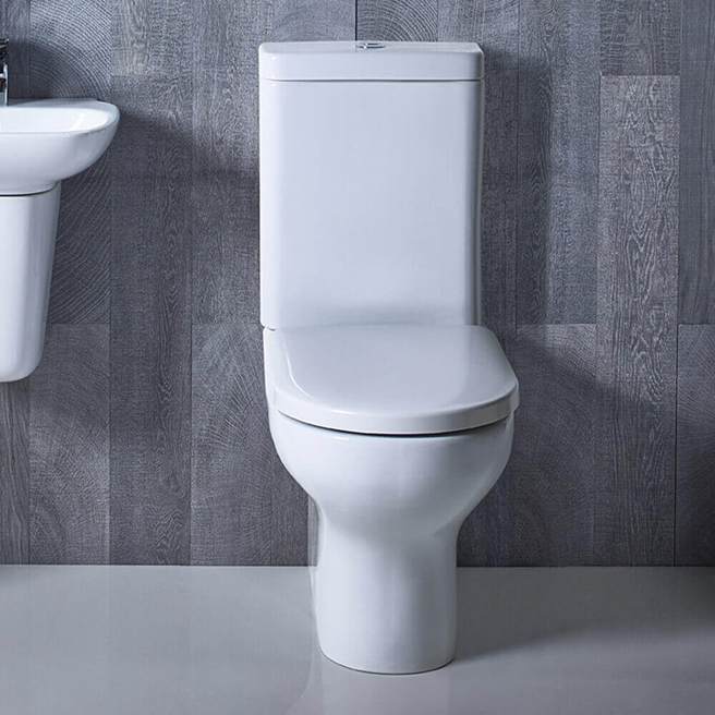 Roper Rhodes Note Close Coupled WC, Cistern & Seat - 620mm Projection