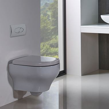 Roper Rhodes Note Wall Hung WC & Seat - 500mm Projection