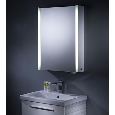 Roper Rhodes Plateau Cabinet, with Integrated Lighting - 544 x 700mm
