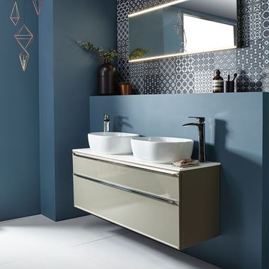 Roper Rhodes Scheme 1200mm Wall Mounted Countertop Basin Unit
