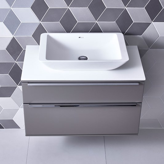 Roper Rhodes Scheme 600mm Wall Mounted Countertop Basin Unit