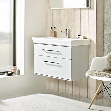 Roper Rhodes Scheme 800mm Wall Mounted Basin Unit