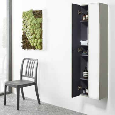 Roper Rhodes Scheme Mirrored Column - 186 x 1400mm