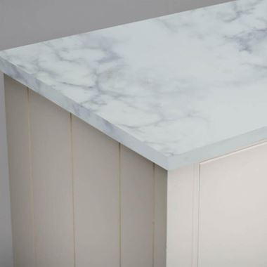 Roper Rhodes Strata 1880mm Solid Surface Worktop - Carrara