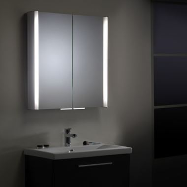 Roper Rhodes Summit Cabinet, with Integrated Lighting - 654 x 700mm