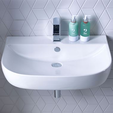 Roper Rhodes Zest Wall Hung/Countertop Basin - 500mm, 600mm & 700mm