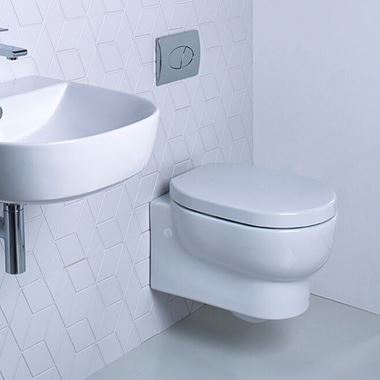 Roper Rhodes Zest Wall Hung Toilet & Soft Close Seat - 520mm Projection