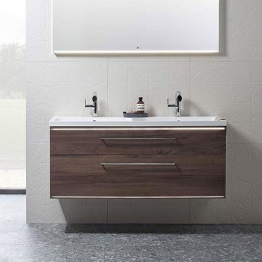Roper Rhodes Scheme 1200mm Wall Mounted Double Basin Unit