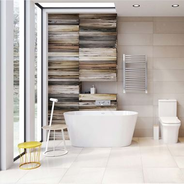 Sandra Freestanding White Acrylic Bath - 1485 X 790mm & 1675 X 780mm