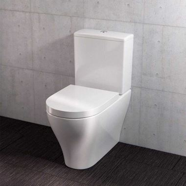 Saneux Prague Rimless Toilet & Soft Close Seat - 635mm Projection