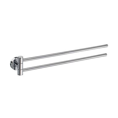 Smedbo Home Swing Arm Towel Rail - 440mm