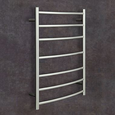Thermosphere Thermorail Curved Dry Electric Towel Rail - 800 x 600mm