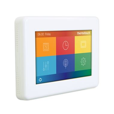 Thermosphere Thermotouch 4.3dC Dual Control Thermostat - Ice White