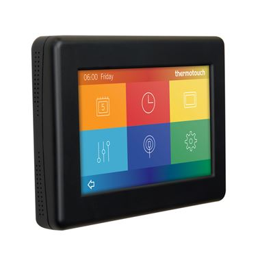 Thermosphere Thermotouch 4.3dC Dual Control Thermostat - Satin Black