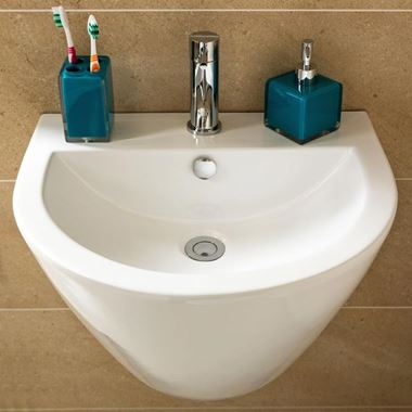 Tulip Wall Hung Basin - 410mm x 530mm