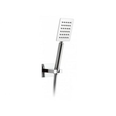 Vado Aquablade Square Mini Shower Kit with Integrated Wall Outlet