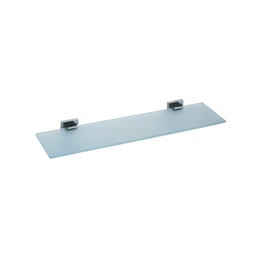 Vado Level 550mm Frosted Glass Shelf
