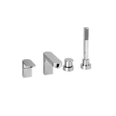 Vado Life 4 Hole Bath Shower Mixer with Shower Kit