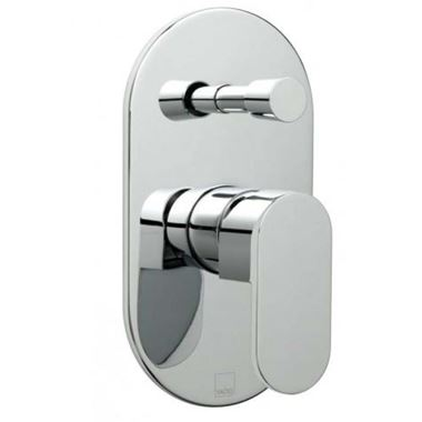 Vado Life Concealed Manual Shower Valve with Diverter - 2 Outlets