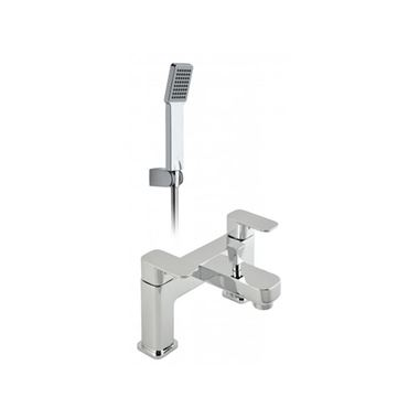 Vado Phase Deck Mounted Bath Shower Mixer Tap with Shower Kit