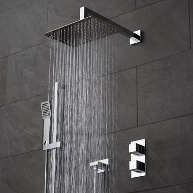 Vado Tablet Notion Concealed Thermostatic Shower Package