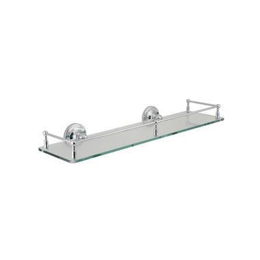 Vado Tournament Glass Gallery Shelf - 510mm