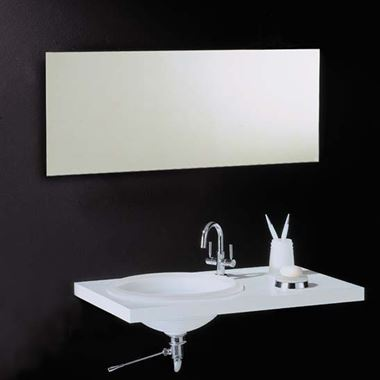 Vasic Slim Rectangular Mirror - 400 x 1000mm, 500 x 1000mm, 600 x 1000mm, 800 x 1000mm & 1200 x 600mm
