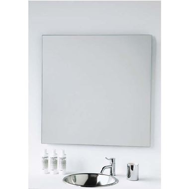 Vasic Slim Square Mirror - 600 x 600mm & 800 x 800mm