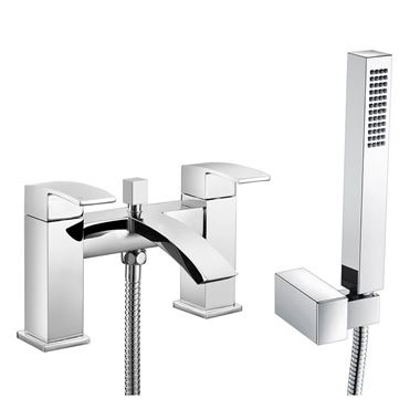 Vellamo City Waterfall Bath Shower Mixer Tap
