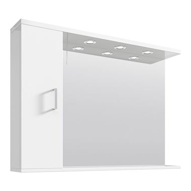 Vellamo Alpine Illuminated Mirror Cabinet - 1050 x 750mm