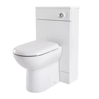 Vellamo Alpine 500mm Back to Wall WC Toilet Unit