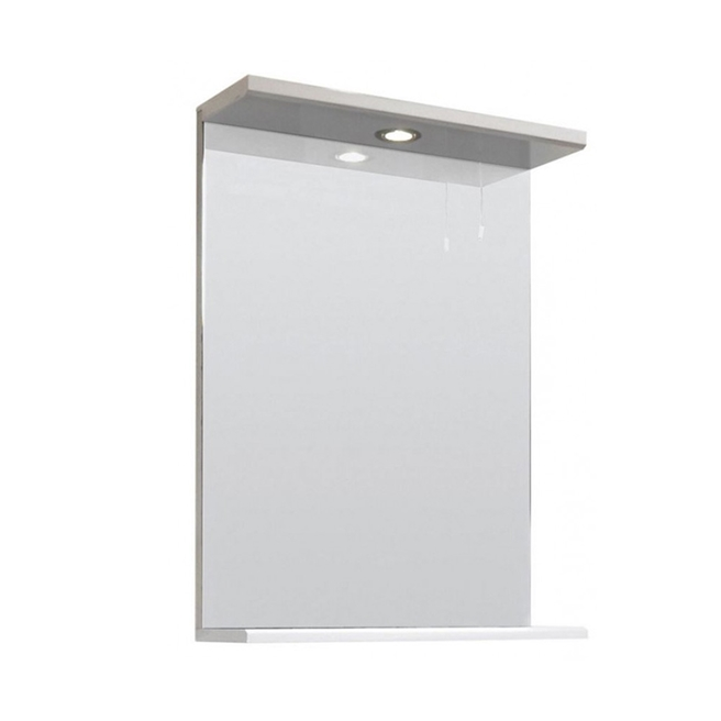 Vellamo Alpine Illuminated Mirror - 550 x 750 x 170mm