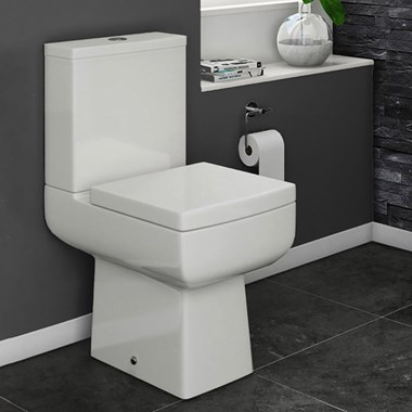 Vellamo Aspire Toilet & Soft Close Seat - 610mm Projection
