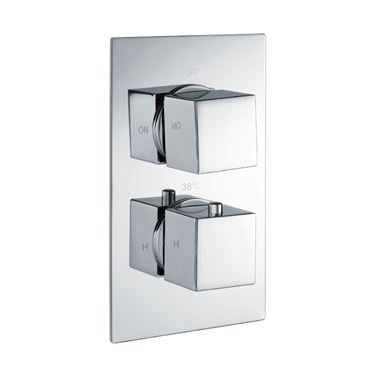 Vellamo Blox 1 Outlet Thermostatic Concealed Shower Valve