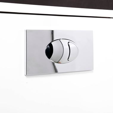Vellamo Concealed Cistern Push Button Plate